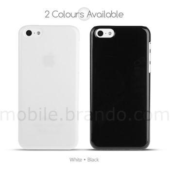 Brando zadní kryt Glossy pro iPhone 5C, černá