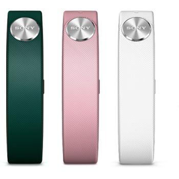Sony SWR110 pásek Fashion pro SmartBand (zelený, růžový, bílý), krátký