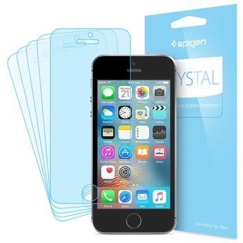 Spigen ochranná fólie LCD Film Crystal CR pro iPhone SE/5s/5
