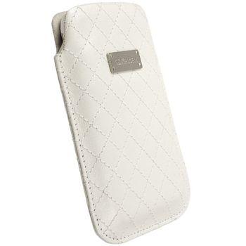 Krusell pouzdro Avenyn XXL - Ascend G300,Samsung Galaxy S II,Nokia 808,Xperia P 69x125x14 mm (bílá)