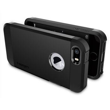 Spigen pouzdro Tough Armor pro iPhone SE/5s/5, černá