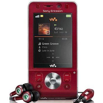 Sony Ericsson W910i Hearty Red