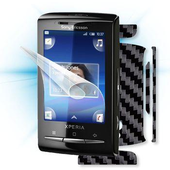 Fólie ScreenShield Sony Ericsson - Xperia mini displej+carbon černý