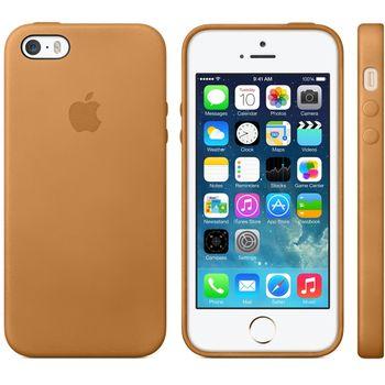 Apple originální kryt pro iPhone 5S, hnědá