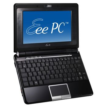 "ASUS Eee 904HA 8.9""/intATOM/1GB/160GB/802bg/Cam/XPH černá"