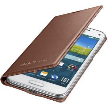 Samsung flipové pouzdro EF-FG800BF pro Galaxy S5 mini, růžovozlaté