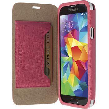 Krusell pouzdro FlipCover Malmö - Samsung Galaxy S5, růžová