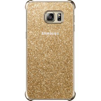 Samsung ochranný kryt Glitter Cover EF-XG928CF pro Galaxy S6 edge+ (G928), zlatý