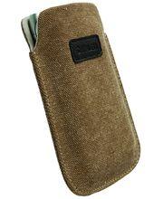 Krusell pouzdro Uppsala 3XL - Sony Xperia V, LG Optimus L7 P700 (hnědá)