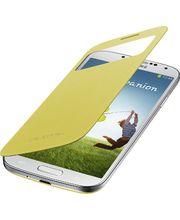 Samsung flipové pouzdro S-view EF-CI950BY pro Galaxy S4 (i9505), žluté