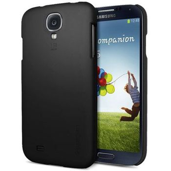Spigen pouzdro Case Slim Premium pro Samsung Galaxy S4 černé