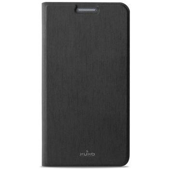 Puro flipové pouzdro s kapsou na kartu pro Samsung Galaxy A5, černá