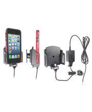 Brodit držák do auta na Apple iPhone 5/SE v pouzdru šíře 62-77mm,tl. pouzdra 6-10mm se skrytým nab.