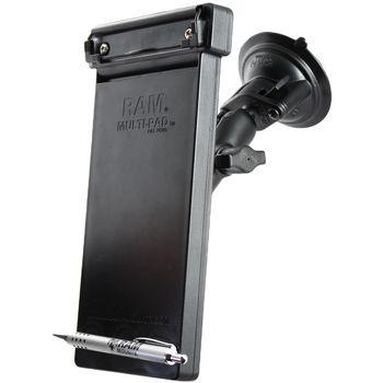 RAM Mounts držák na zápisník Multi-pad organizer s vysoce kvalitní přísavkou na okno, sestava RAM-B-166-MP1U