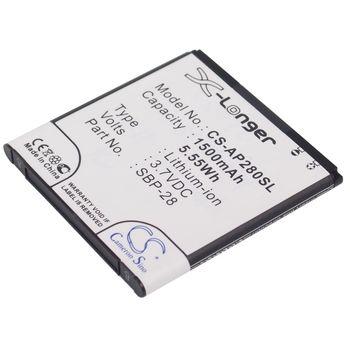 Baterie pro Asus Padfone, 1500mAh, Li-ion