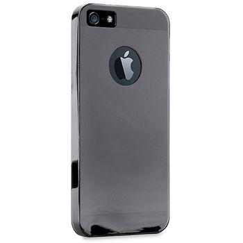 Puro zadní kryt Crystal pro iPhone 6 4.7, černá