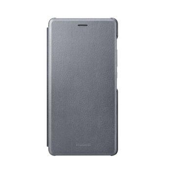 Huawei flipové pouzdro pro P9 lite, šedé
