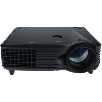LED projektor 800x480px, černá