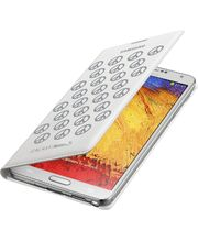 Samsung flipové pouzdro s kapsou Moschino EF-EN900BS pro Galaxy Note 3, bílo stříbrné
