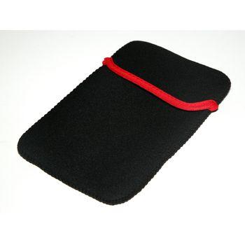 """Neoprénové ochranné pouzdro pro LCD tablet 10"""" - černo-červené"""