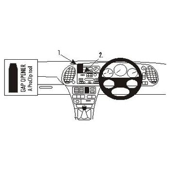 Brodit ProClip montážní konzole pro Pravostranny Saab 9-3 98-02