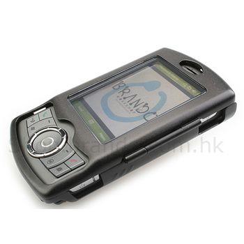 Pouzdro hliníkové Brando - HTC P3300 Artemis (černá)