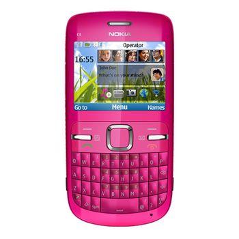 Nokia C3-00 Hot pink