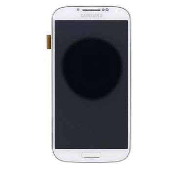 Náhradní díl LCD displej s dotykovou vrstvou a předním krytem pro Samsung i9506 Galaxy S4 LTE, bílá