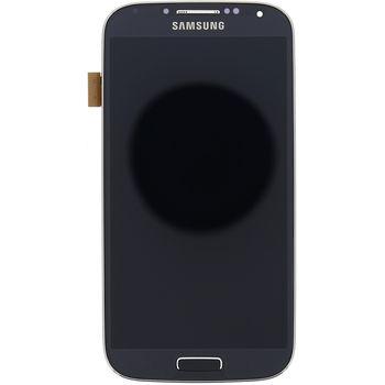 Náhradní díl LCD displej s dotykovou vrstvou a předním krytem pro Samsung i9506 Galaxy S4 LTE, černá