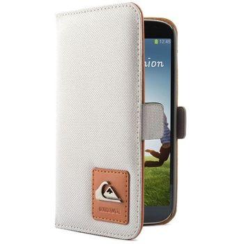 Quiksilver pouzdro typu kniha pro Samsung Galaxy S4, šedé