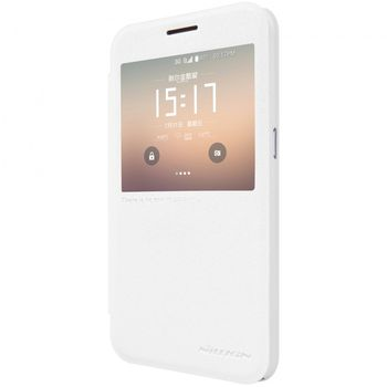 Nillkin flipové pouzdro Sparkle S-View pro Samsung Galaxy S7, bílé