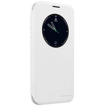 Nillkin flipové pouzdro Sparkle S-View pro Samsung Galaxy S7 edge, bílé