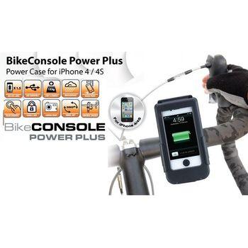 Držák BikeConsole Powerplus pro iPhone 4/4s se záložním akumulátorem 1100mAh