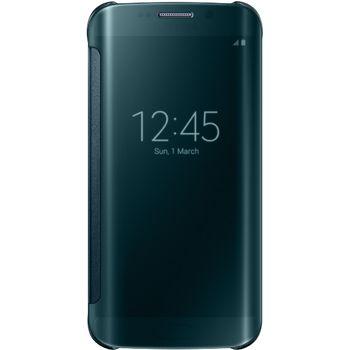 Samsung flipové pouzdro Clear View EF-ZG925BG pro Galaxy S6 Edge, zelená