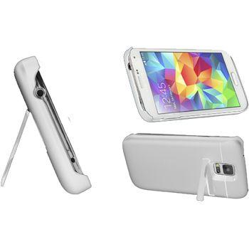 Brando plastové pouzdro s přídavnou baterií pro Galaxy S5, bílé