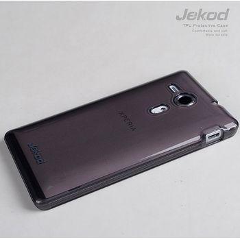 Jekod TPU silikonový kryt Sony Xperia Z1, černá
