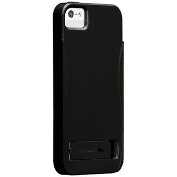Case Mate pouzdro Pop Black  pro iPhone 5 se stojánkem