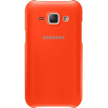 Samsung ochranný zadní kryt  EF-PJ100BO pro Galaxy J1, oranžová