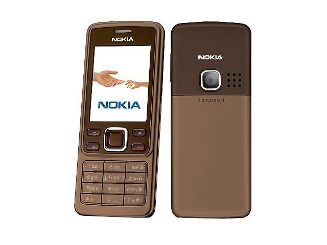 obsah balení NOKIA 6300 Choco 512MB + pouzdro Krusell Classic