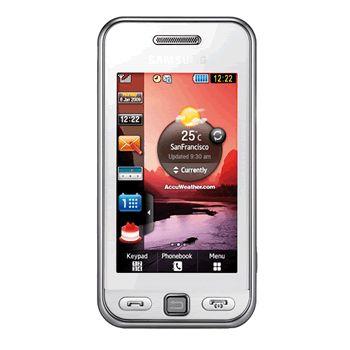 Samsung S5230 Star White + pouzdro Krusell Gaia černé