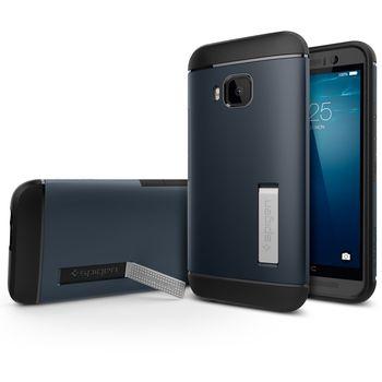 Spigen pouzdro Slim Armor pro HTC One M9, kovově modrá