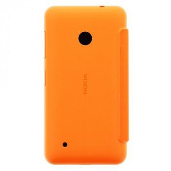 Nokia CC-3087 flip pouzdro Nokia Lumia 530, oranžová