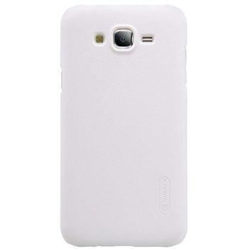 Nillkin Super Frosted Zadní Kryt pro Samsung J700 Galaxy J7, bílý