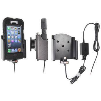 Brodit držák do auta na Apple iPhone 5/5S/SE v pouzdru Griffin Survivor se skrytým nabíjením