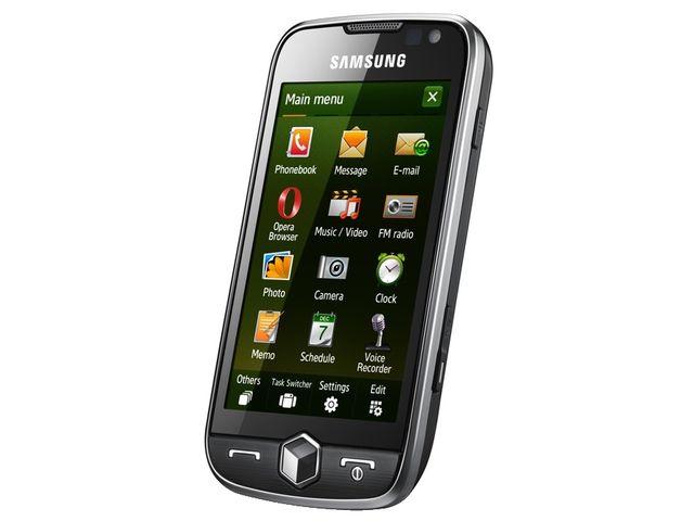 obsah balení Samsung i8000 Omnia II Silver Black + Solární outdoorová záložní nabíječka Powermonkey-eXplorer