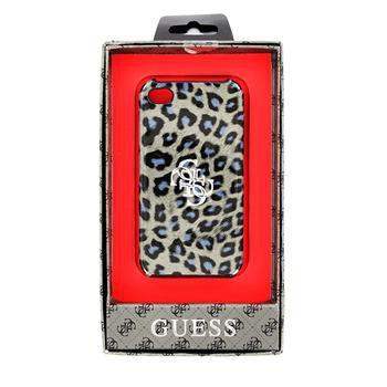 Guess Leopard zadní kryt pro iPhone 4/4S
