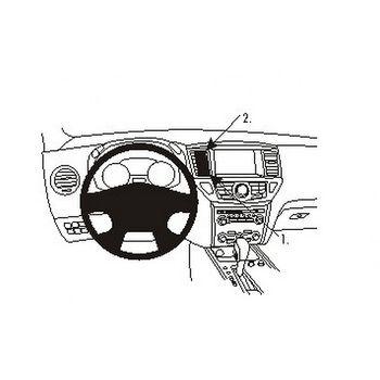 Brodit ProClip montážní konzole pro Nissan Pathfinder 13-16, na střed