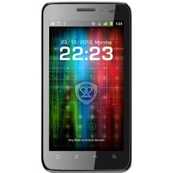 Prestigio MultiPhone 4300 DUO (černý) + Stylus SJ7 se sponou a vysouvací propisovací tužkou (bílý)