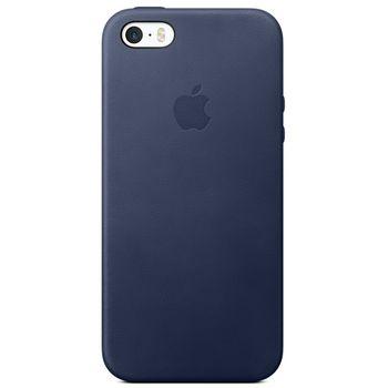 Apple ochranný kožený kryt pro iPhone 5/5S/SE, modrý