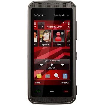 NOKIA 5530 XpressMusic Black Red 2GB + pouzdro Krusell Classic